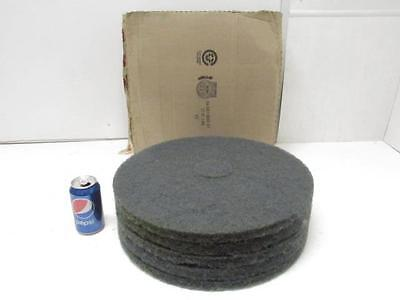 "NOS Lot of 5 3M Blue Floor Cleaner Pad 17"" Pads #5300"