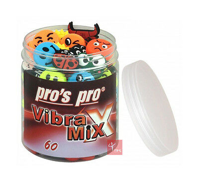 Pro's Pro Vibra Mix - Tennis Vibration Dampeners (Assorted Dampeners Included)