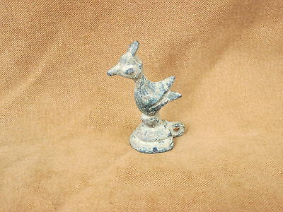 Ancient Bactrian Bronze  Small Bird C.300 BC