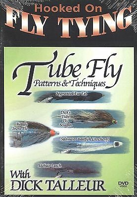 Tube Fly Patterns & Techniques - Hooked on Fly Tying  with Dick Talleur - DVD