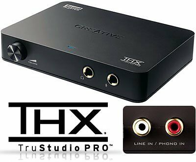 Creative Sound Blaster X-FI HD External USB THX optical tech + FREE Delivery