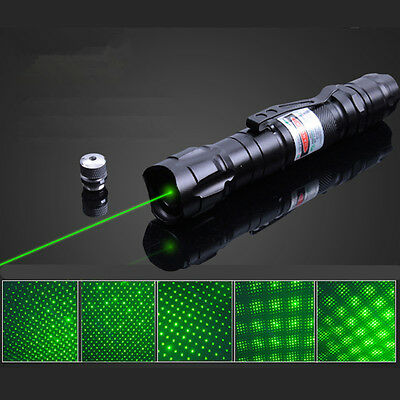 10 Mile Military 5mw Green Laser Pointer Pen Light 532nm Visible Beam Burn Focus