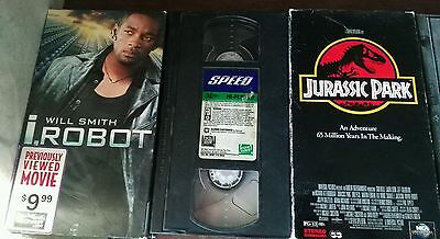 Lot of VHS Action movies