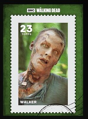 POSTAGE SERIES 3 GREEN WALKER The Walking Dead Card Trader Digital