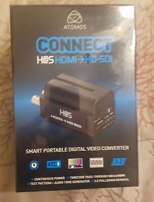 Atomos Connect H2S Converter with 2600mAh Battery New & Sealed