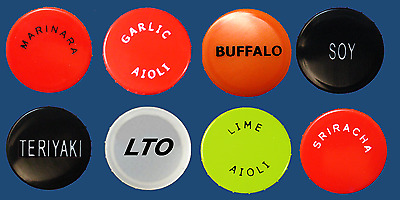 FIFO Bottle Replacement End Caps, 8 pc Specialty Pack #1
