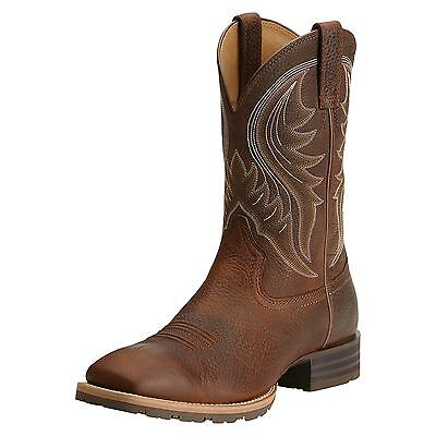 ARIAT - Men's Hybrid Rancher WST Boots - Brown Oiled Rowdy - ( 10014070 ) - New