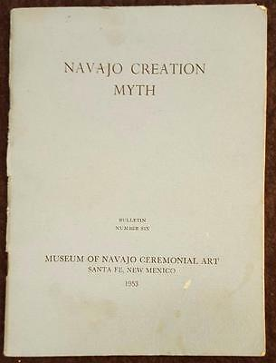 1953 Navajo Creation Myth No.6 - Museum of Navajo Ceremonial Art, Santa Fe, NM