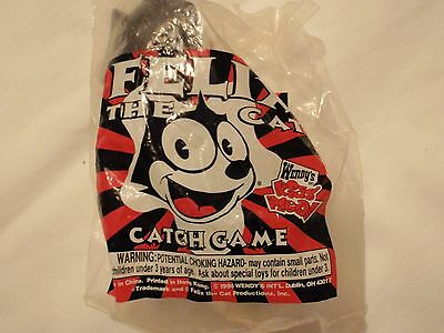 1996 Wendy's Kids' Meal Felix the cat catch game