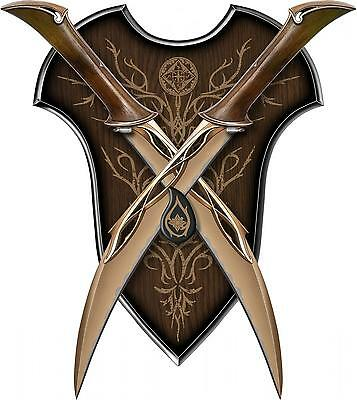 UC3044 Fighting Knives of Tauriel - IN STOCK - BRAND NEW - LOTR HOBBIT