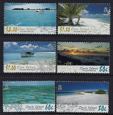 2005 Pitcairn Islands Scenes Of The Islands Set Of 6 Fine Mint Mnh/muh