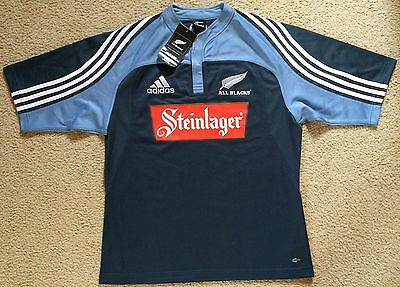 New / Tagged New Zealand All Blacks Adidas Rugby Union Jersey...See description