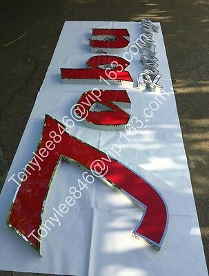 Front Lit Channel Letters Display Sign, made by stainless steel,Sign Wholesale