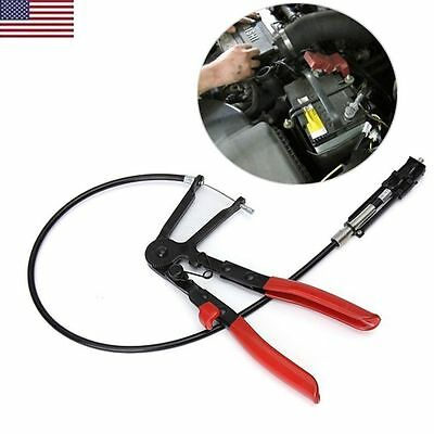24'' Reach Cable-type Flexible Hose Clamp Pliers for Fuel/Water/Oil Auto Tools V