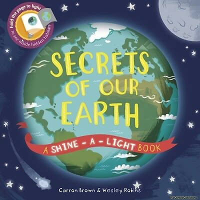 Secrets of Our Earth Carron Brown Wesley Robins Hardback New Book Free UK Delive