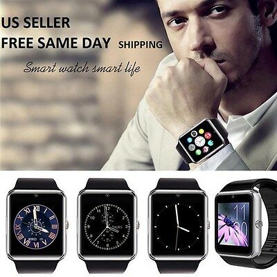"""""""GT08 Bluetooth Smart Wrist Watch GSM Phone For Android Samsung Apple iOS iPhone"""