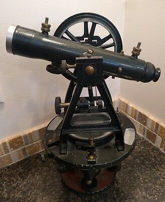 W. & L. E. Gurley Vintage Surveyors Transit 1943 *FAST SHIPPING* WWII - Troy, NY
