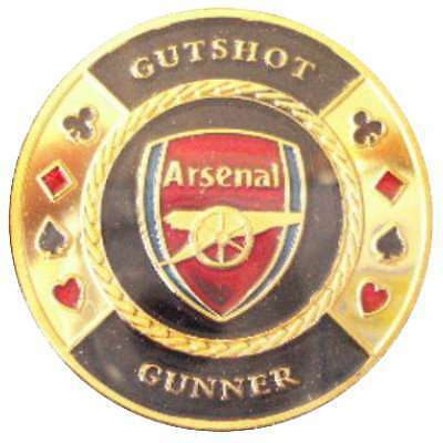Poker Protector Card Guard Cover in Capsule :  Gutshot Arsenal Gunner