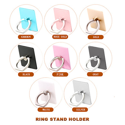 Universal 360  Finger Ring Metal Grip Stand Holder for Cell Mobile Phone