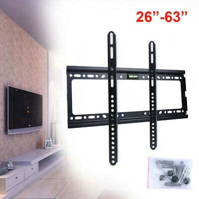 TV Bracket Wall Mount Slimline Tilting LCD LED 26 32 39 40 43 49 50 55 63 Inch