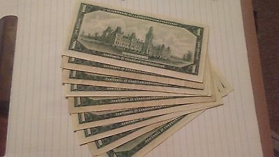 1967 Canadian centennial dollar old paper bank note currency