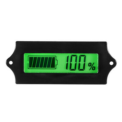 12V Lead-acid Lithium Battery Capacity Voltmeter Module LCD Tester Monitor TE619