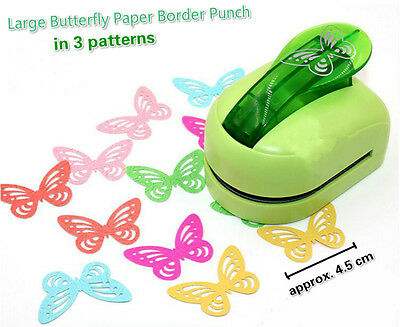 Large Butterfly Paper Border Punch Embossing Cutter Card Marking Scrapbooking