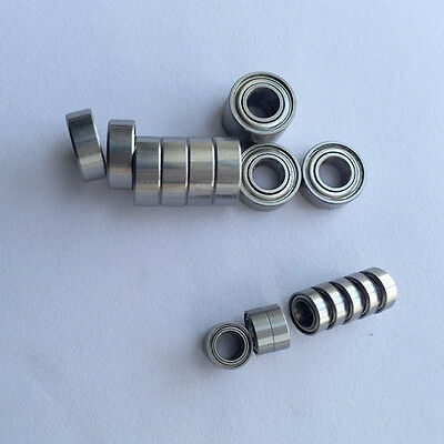 5Pcs Chrome Steel MR83 ZZ Miniature Bearings Ball Mini Bearing 3X8X3mm MR83ZZ