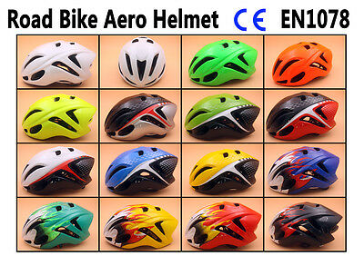 2017 Outdoor sports Cycling 15 Colour bicycle road bike aero helmet M L 54-62cm