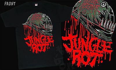 JUNGLE ROT -Terror Regime- American death metal band , T_shirt- sizes: S to 6XL