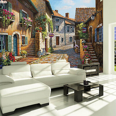 Victorian Art Deco Wallpaper 3d Retro Country House Wall Mural Background Decal