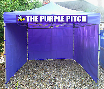 Heavy Duty Commercial Gazebo Event Tent Marquee Printing Included Fast Delivery