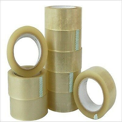 36 Rolls Tape 2 Inches x 110 Yards Clear Carton Shipping Box Sealing Packing Spe
