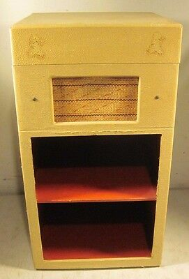 Vintage 1950's Record Player Turntable Nightstand