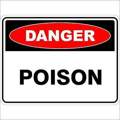 Safety Sign - POISON