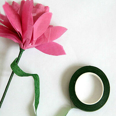 Newly Florist Stem Tape Wire Floral Work Plastron Resealable Elastic Tape Wrap