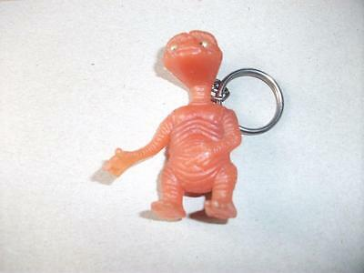 Vintage ET Extra Terrestrial  Plastic Googly Eye Key Ring Collectable Keyring