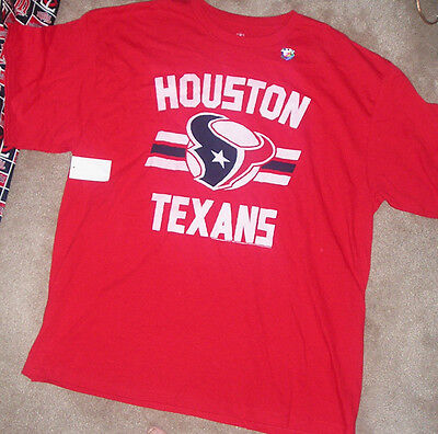 b5fe14e4a NEW NFL HOUSTON Texans Football T Shirt Men 2XL XXL NIKE Dri Fit NEW ...
