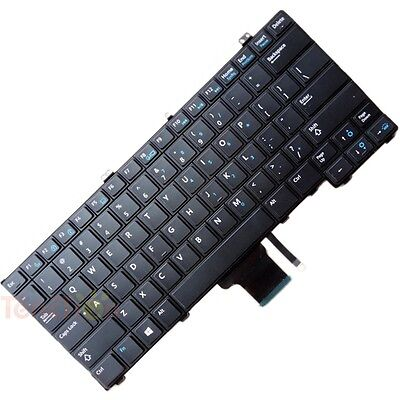 Backlit Keyboard for Dell Latitude 12 7000 E7240 E7440 E7420 Without Track Point