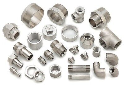 "BSP Pipe Fittings Stainless Steel 316 A4 Grade 150lb  1/8"" To 4""  Free Delivery"