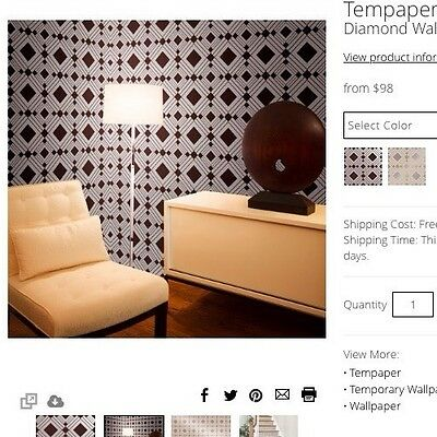 tempaper designs marrakesh self-adhesive temporary