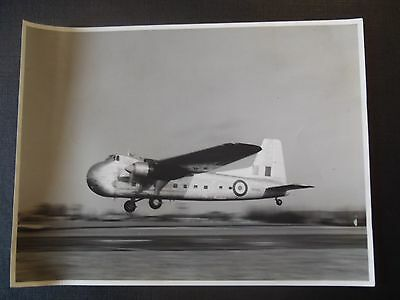 Photo Originale Des Annees 50 Avion Bristol Freighter For New Zealand
