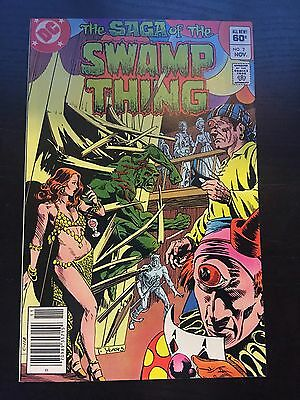 Swamp Thing (1982 2nd Series) #7 Very Fine VF DC Comics Newsstand