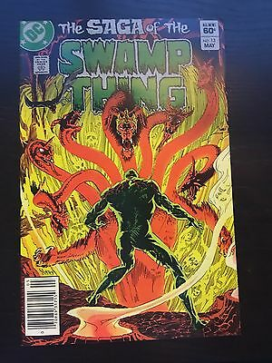 Swamp Thing (1982 2nd Series) #13 Very Fine VF DC Comics Newsstand