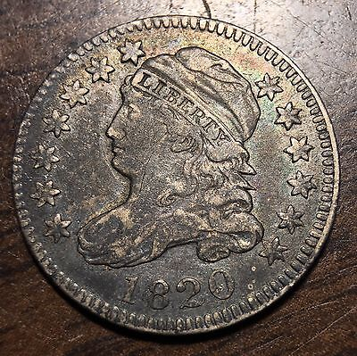 1820 Capped Bust 10C Dime