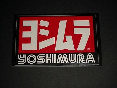 Yoshimura Sticker Decal Exhaust Race Gp Moto Bapperl Adhesive Logo 10Z