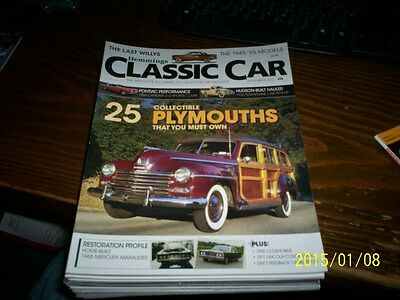 """Hemmings,Classic Car,Nov,'12,Collector Car ,""""Collectible Plymouths"""""""