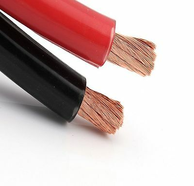 25mm2 Welding Battery Earth PVC Flexible Cable 100m Role RED / BLACK 170amp