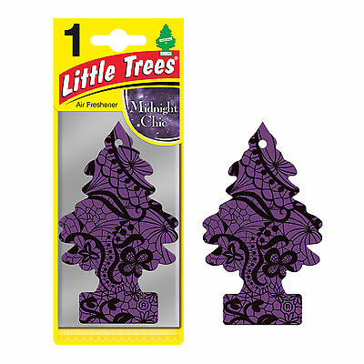 Magic Tree Little Trees Car Home Air Freshener Freshner Scent - MIDNIGHT CHIC