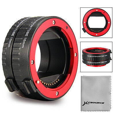 Macro Extension Tube per Sony E-Mount Full Frame Camera NEX-7 A7 A7S A7R DC612